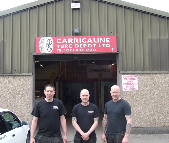 tyre puncture repair service in Carrigaline