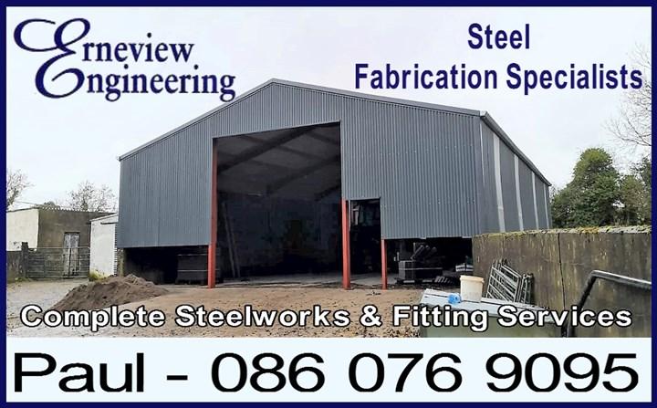 Farm Building Steel Fabrication Cavan