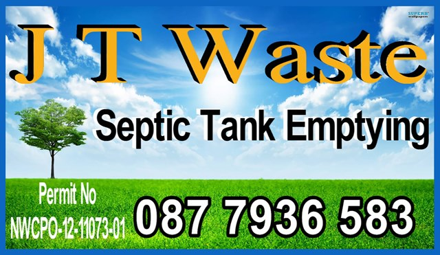 septic tank emptying logo