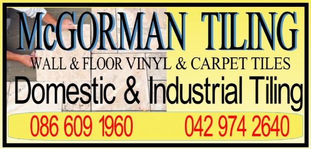 logo of Monaghan tiler Tony McGorman Tiling