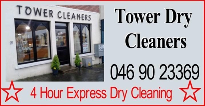 Tower Dry Cleaners Navan logo