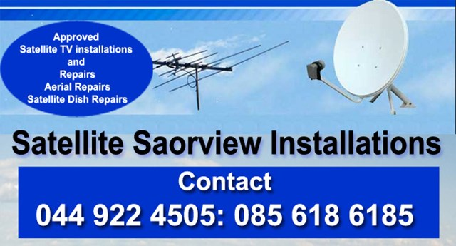 Satellite Saorview Installations Kinnegad, Enfield and Edenderry.