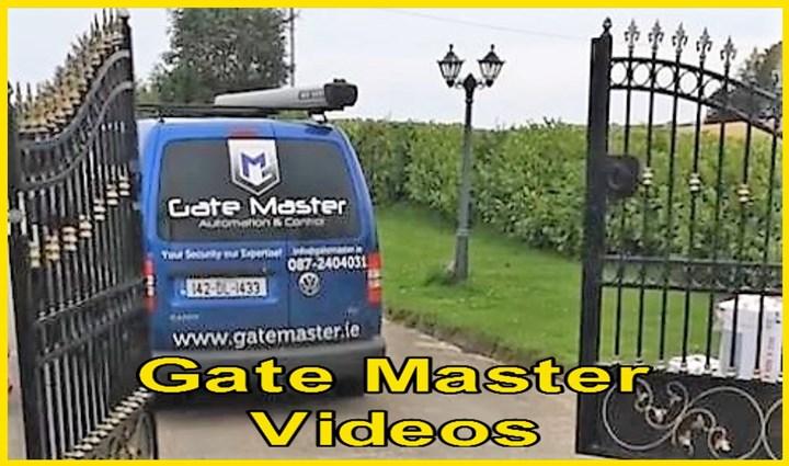 Video of automatic gate installations in Sligo
