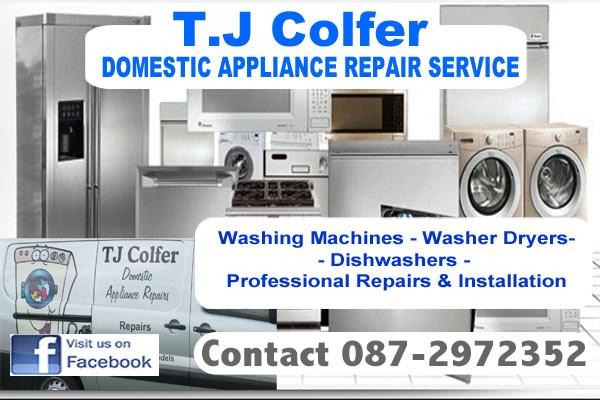 Washing machine repairs in County wexford.