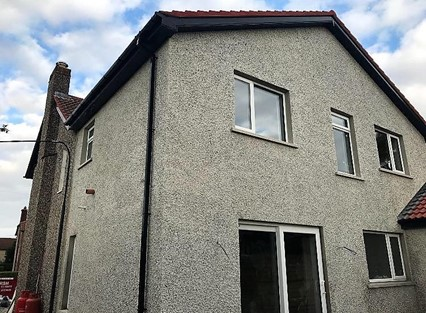 House plastered in Donegal by Jason