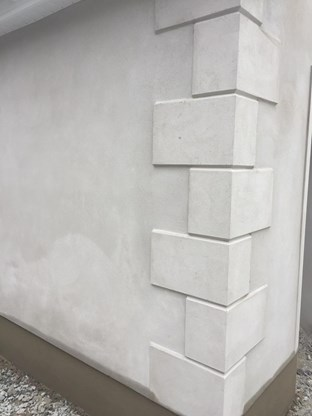Exterior plastering in Donegal