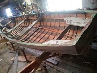 Wooden boat repair in Ireland