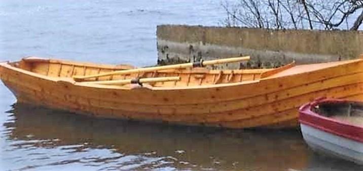 Wooden bolt built in Ireland