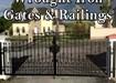 Wrought Iron Gates, Railings, Dublin 18.