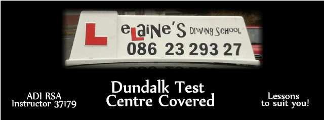 Elaine's Driving School Female Driving Instructor Louth